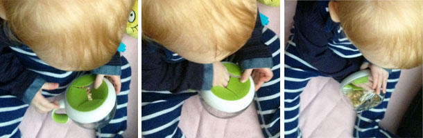 OXO Tot Flippy Snack Cup Review A Mum Reviews