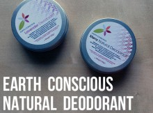 Earth Conscious Natural Organic Deodorant Review A Mum Reviews