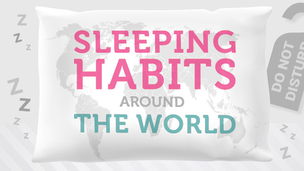 Sleeping Habits Around The World A Mum Reviews Infographic