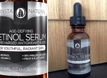InstaNatural Age-Defying Retinol Serum Review A Mum Reviews