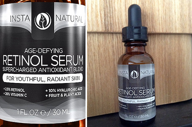 InstaNatural Age-Defying Retinol Serum Review A Mum Reviews