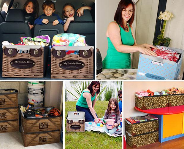 MyBuddy-Box Folding & Stacking Plastic Box Review A Mum Reviews