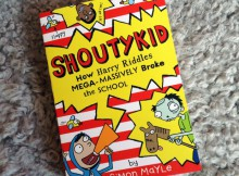 Book Review & Giveaway: Shoutykid, Book 2 A Mum Reviews