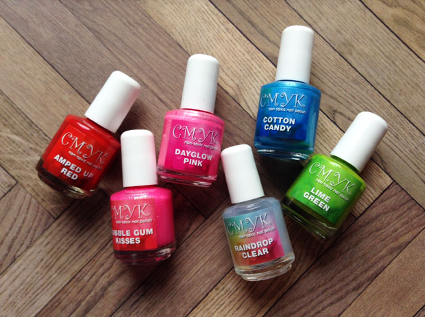 CMYK Non-Toxic Nail Polish Review A Mum Reviews
