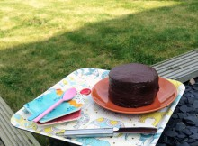 Gardening and Cake - Chocolate Cake Baking Kit from Dobies Review A Mum Reviews
