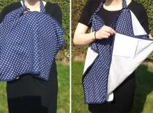 Mothercare Navy Spot Breastfeeding Shawl Review A Mum Reviews