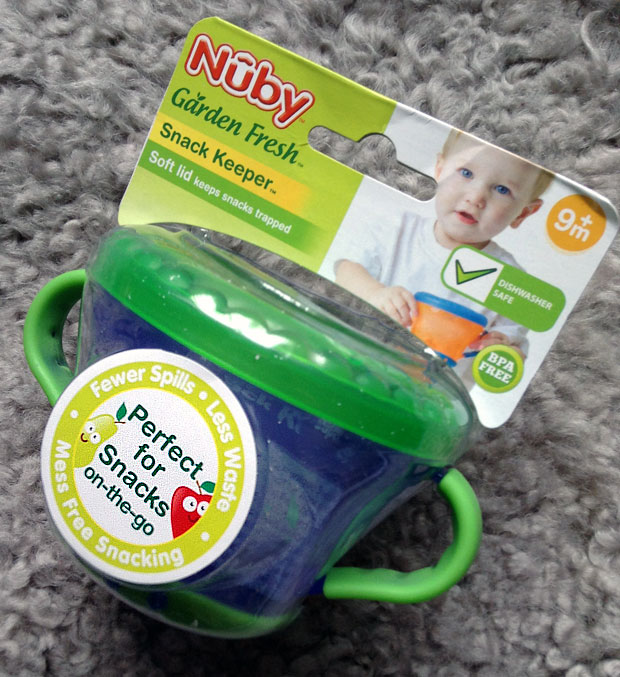 Nûby Garden Fresh Snack Keeper Review A Mum Reviews