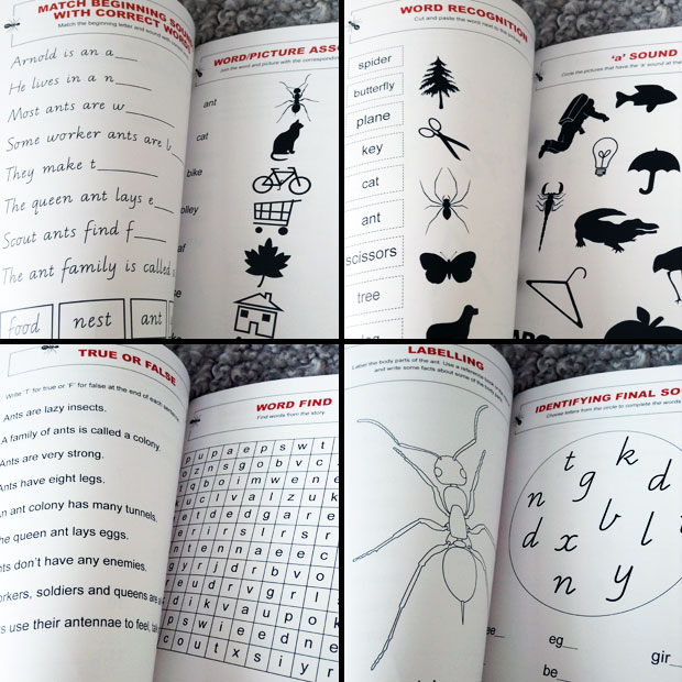 Arnold Ant Activity Book by Alice Horwill Review A Mum Reviews