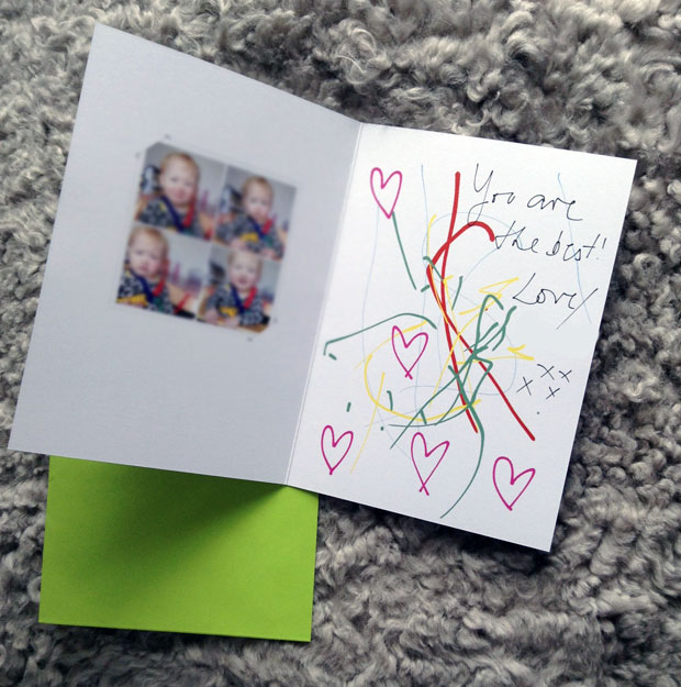 Father's Day - Inkly Personalised Printed Greetings Cards App Review A Mum Reviews