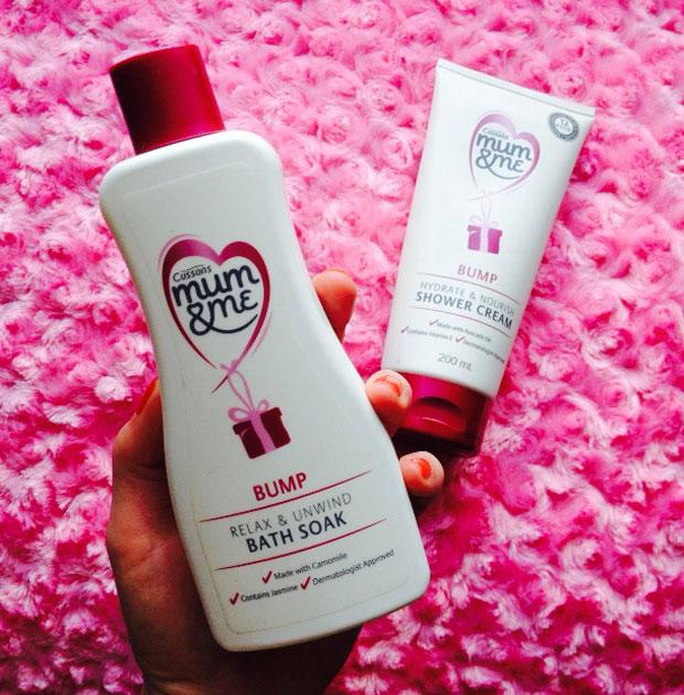 Cussons Mum & Me Bump Bath Soak and Shower Gel Review