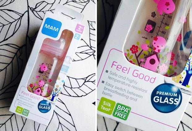 MAM Feel Good Glass Bottle Review A Mum Reviews