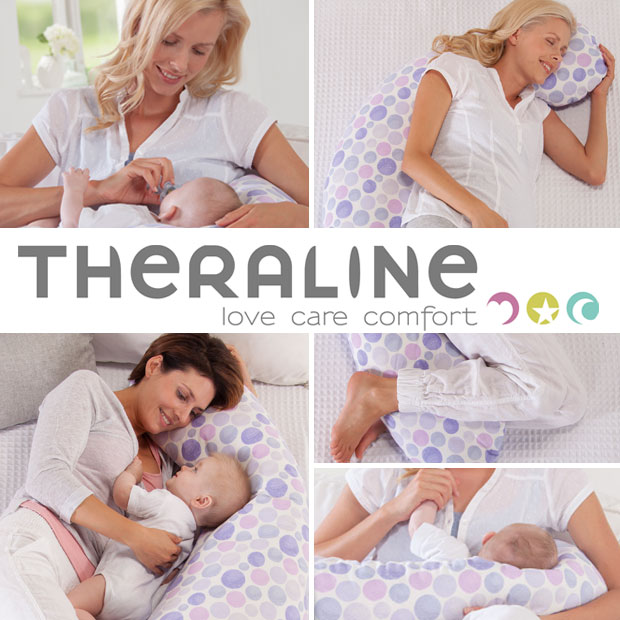 Giveaway: Win A Theraline Original Pregnancy & Baby Feeding Pillow A Mum Reviews