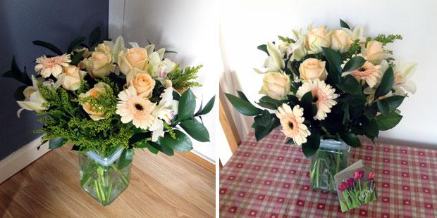 Haute Florist Bouquet from Prestige Flowers Review A Mum Reviews
