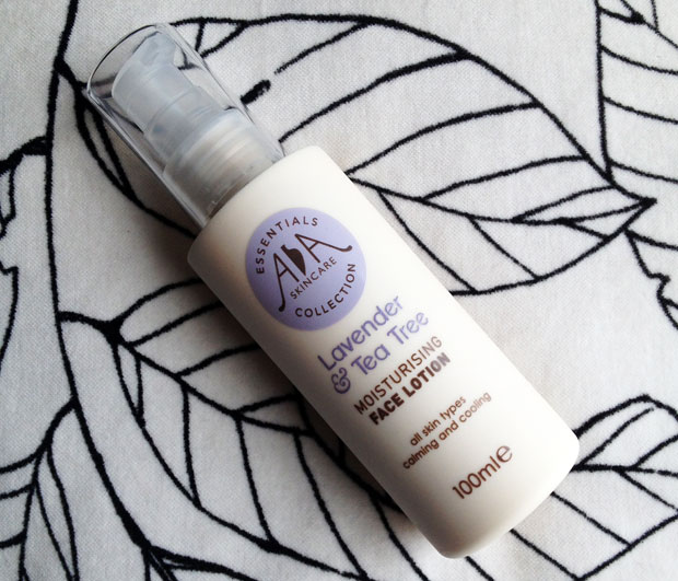 AA Skincare Lavender & Tea Tree Face Lotion Review A Mum Reviews