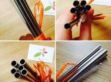 Earth Conscious Reusable Stainless Steel Drinking Straws Review A Mum Reviews