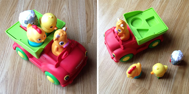 TOMY Sort 'n' Pop Farmyard Friends Review A Mum Reviews