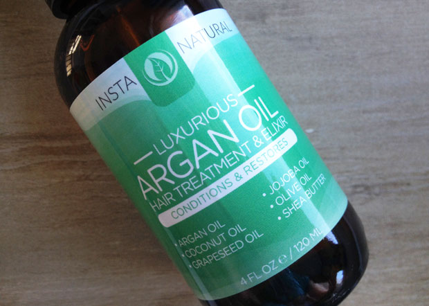 InstaNatural Argan Oil Hair Treatment & Elexir Review A Mum Reviews