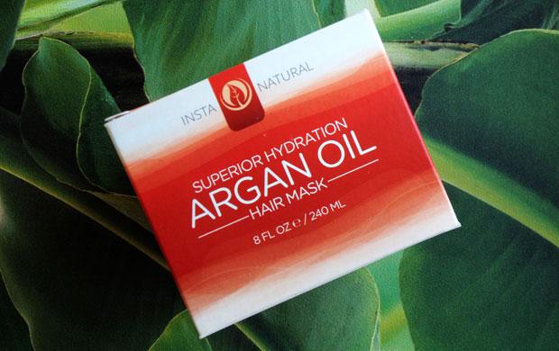 InstaNatural Superior Hydration Argan Oil Hair Mask Review A Mum Reviews