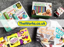 Christmas Gift Ideas with The Works and Santa's Giftshop A Mum Reviews