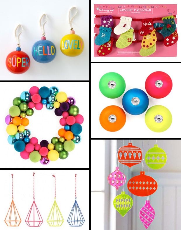 Colourful & Fun Christmas Decorations A Mum Reviews