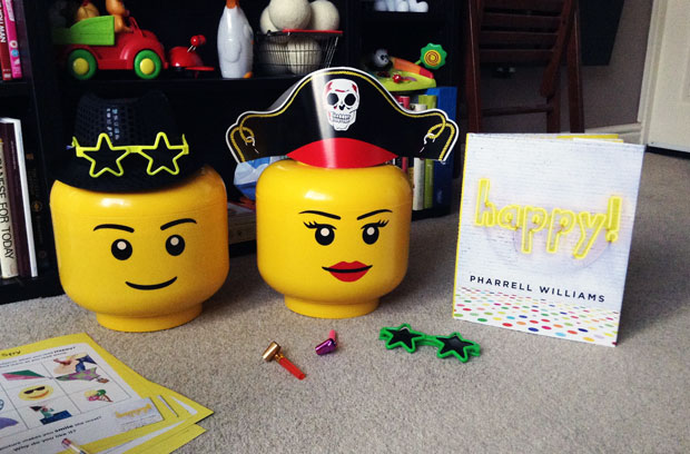 Happy! By Pharrell Williams + Our Happy Party A Mum Reviews