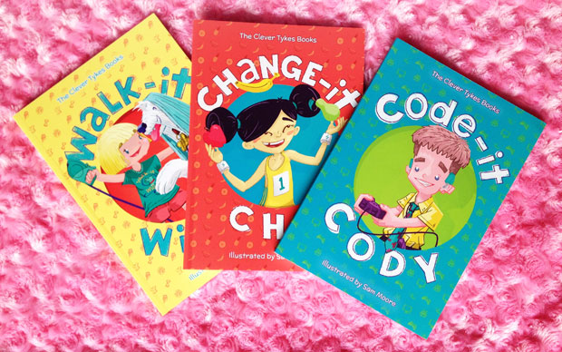 Book Review & Giveaway: Clever Tykes Inspirational Books A Mum Reviews