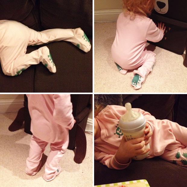 Creeper Crawlers Easy Grip Crawl Suit Review A Mum Reviews