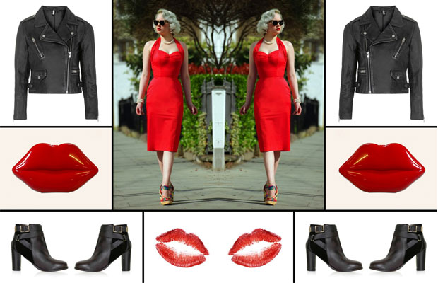 Valentine's Day - Sweet & Tough Retro Date Night Outfit A Mum Reviews