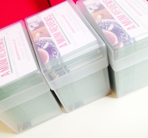 Aura Print Digital Impakt Colour Core Business Cards Review A Mum Reviews