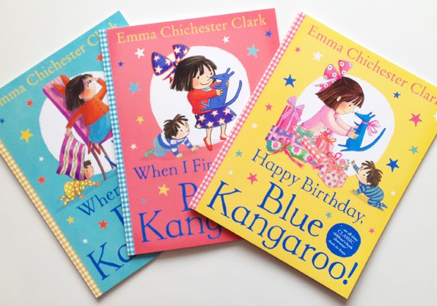 Book Review: Blue Kangaroo Books by Emma Chichester Clark A Mum Reviews