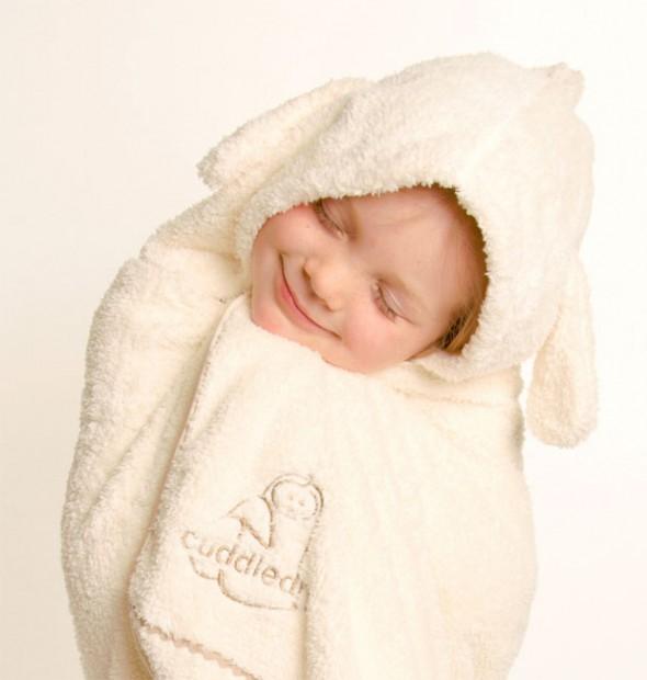 Cuddledry Snuggle Bunny Children's Towel Review A Mum Reviews