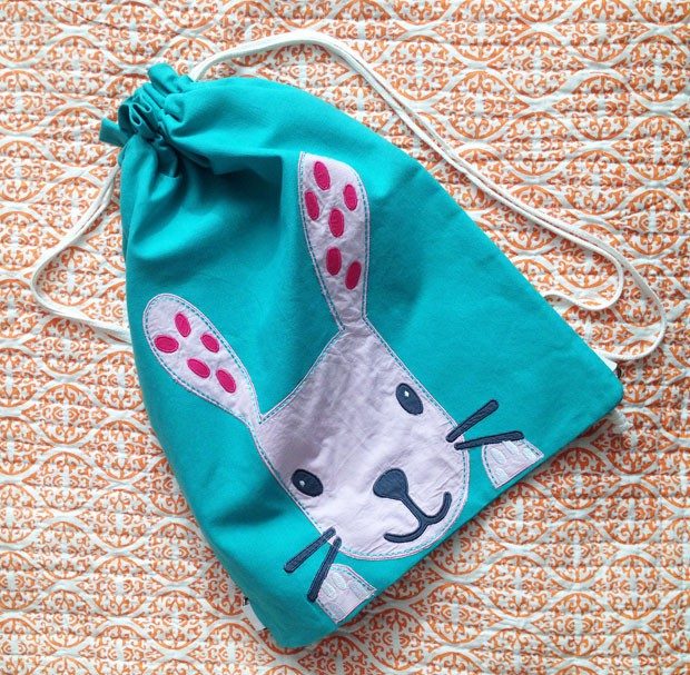 Great Little Trading Company's Rosa Rabbit Swim Bag Review A Mum Reviews
