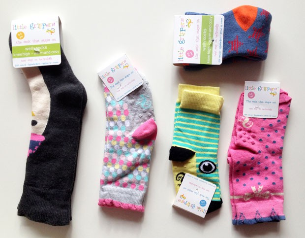 Little Grippers Toddler Socks Review - With Stay On Technology A Mum Reviews