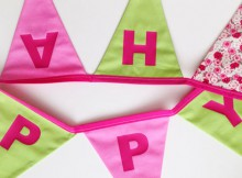 Molly's Beautiful Bunting Personalised Bunting Review A Mum Reviews