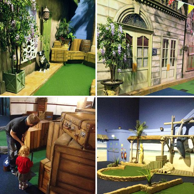 Paradise Island Adventure Golf Sheffield Review A Mum Reviews
