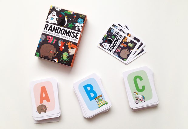 Randomise Game Review - Draw, Act or Describe Your Way To Victory! A Mum Reviews