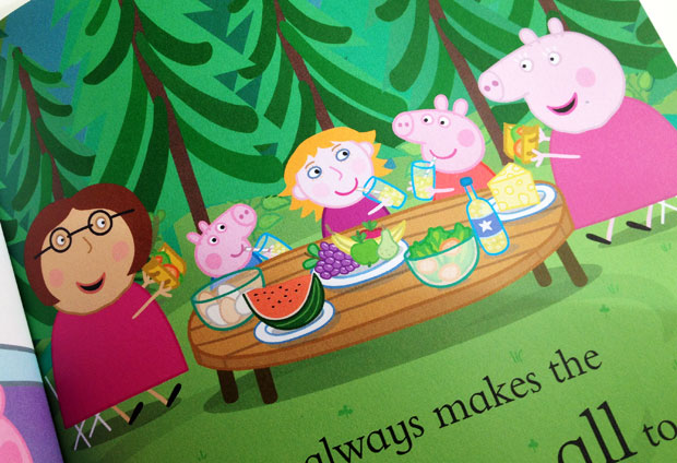 Book Review: Personalised Peppa Pig My Granny Book by Penwizard A Mum Reviews