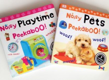 Noisy Peekabook Books From DK Books Review A Mum Reviews