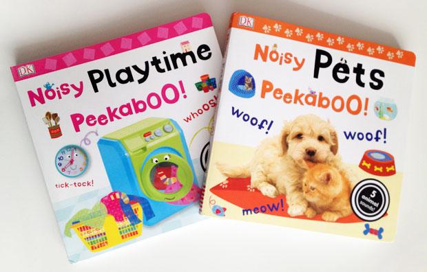 Noisy Peekaboo Books From DK Books Review A Mum Reviews