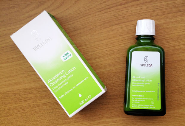 Weleda Aknedoron Cleansing Lotion Review A Mum Reviews