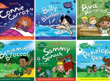 Book Review: NutriKids Book Collection by Sam Bourne A Mum Reviews