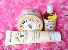 Burt's Bees Mama Bee Pregnancy Skincare Products Review A Mum Reviews