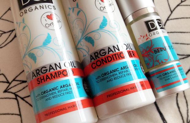 DGJ Organics Argan Oil Shampoo, Conditioner & Hair Oil Review A Mum Reviews