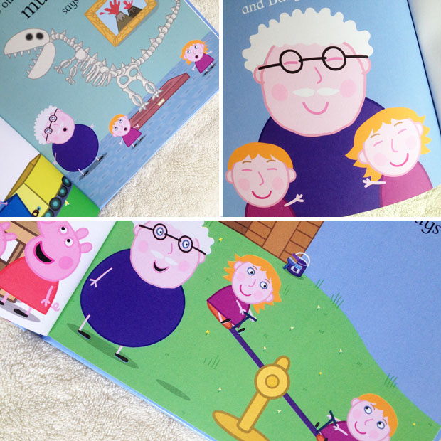 Book Review: Personalised Peppa Pig My Grandpa Book by Penwizard A Mum Reviews