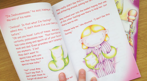 Book Review: The Feelings Baskets Books by Debbie K. A Mum Reviews