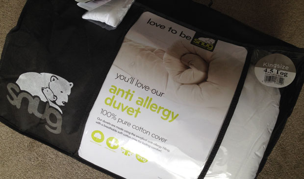 Choosing the Right Duvet When You Suffer from Allergies A Mum Reviews