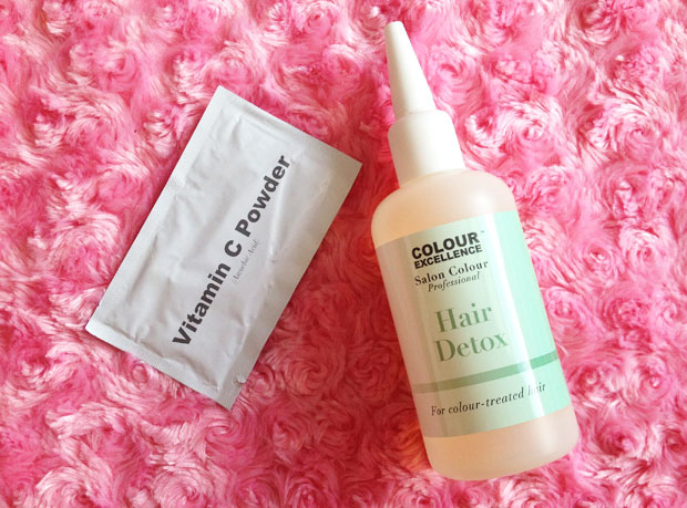 Colour Excellence Hair Detox Review - Cleaner, Lighter Hair