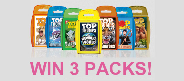 Top Trumps Review + Giveaway - Win Three Packs of your Choice! A Mum Reviews
