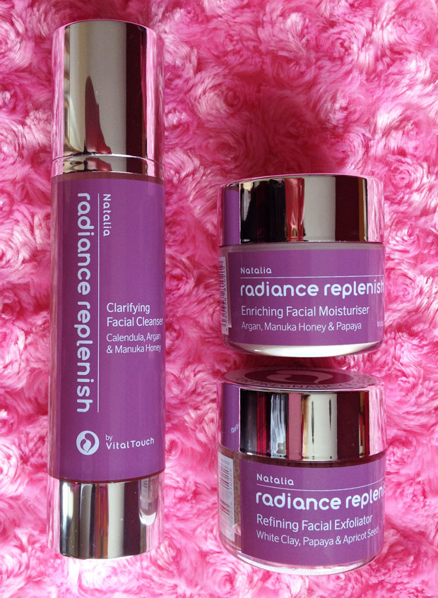 Natalia Radiance Replenish Facial Skincare Trio Review + Giveaway A Mum Reviews