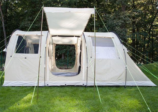 SKANDIKA Gotland 4 Person Tent with Sewn-in Groundsheet Review A Mum Reviews